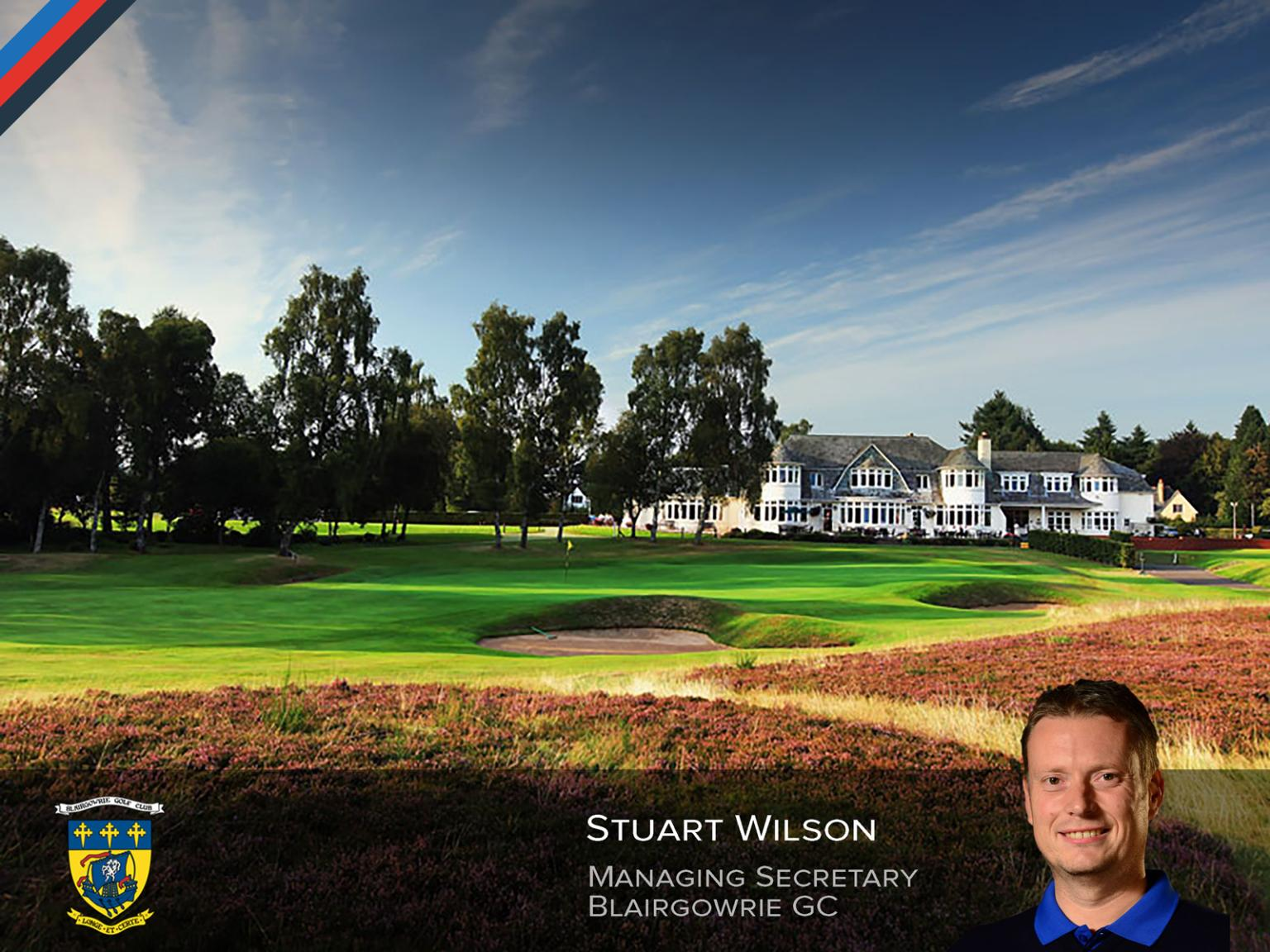 Stuart Wilson Appointed at Blairgowrie Golf Club